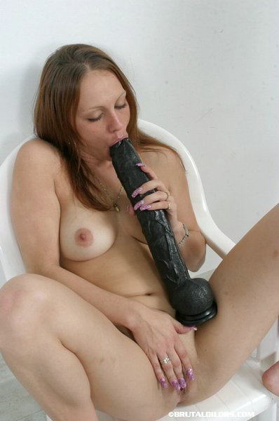 Free dildo action that the